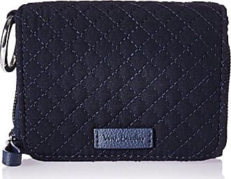 Vera Bradley Womens Iconic RFID Card Case Vv, classic navy, One Size