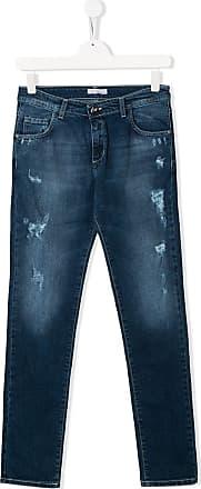 Blumarine Calça jeans reta - Azul