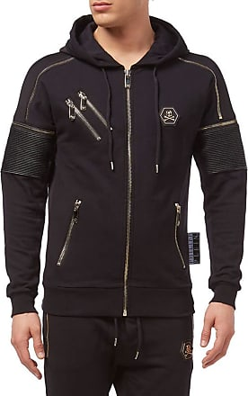 Philipp Plein Hoodie Sweatshirt Feeling (Medium) Black