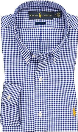 Polo Ralph Lauren Kariertes Oberhemd, Custom Fit von Polo Ralph Lauren in Blau für Herren