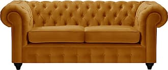 SLF24 Chesterfield Max 2 Seater Sofa-Velluto 8