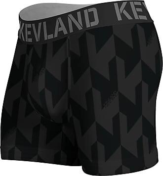 Kevland Underwear Cueca Kevland Boxer Black Crew KEV310 GG
