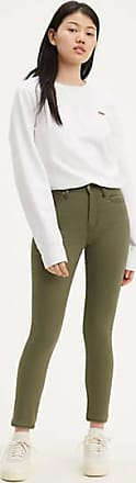 Levi's 721 High Rise Skinny Jeans - Green