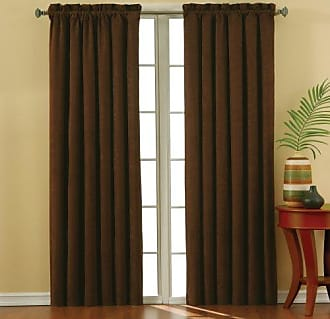 Eclipse KOZDIKO Eclipse 10301042X063CH Suede 42-Inch by 63-Inch Thermaback Blackout Single Panel, Chocolate