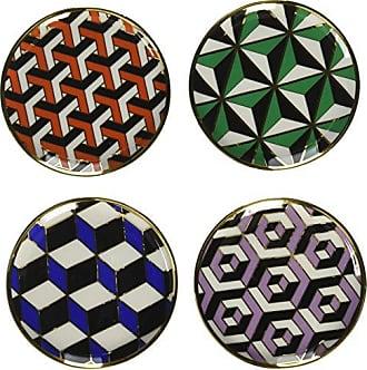 Jonathan Adler Versailles Coasters, Multi