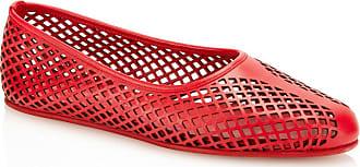 Tamara Mellon Lihi Red Nappa Flats, Size - 36.5