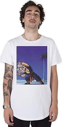 Stoned Camiseta Longline Trunks - Llntrunksx-br-04