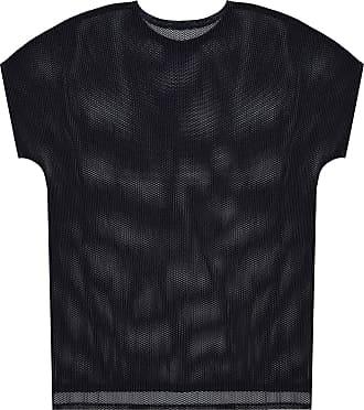 Issey Miyake Semi-sheer T-shirt Womens Black