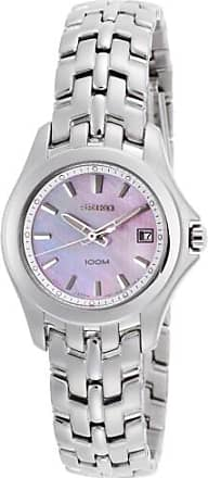 Seiko Womens Stainless Steel Mother of Pearl Dial