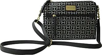 c2eff8b0a9c81 Tommy Hilfiger Tommy Hilfiger Womens Crossbody Bag East West Small Bag ( Black)