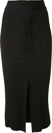 Dion Lee cable twist skirt - Black