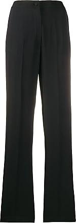 Blumarine Calça cintura alta com tachas - Preto