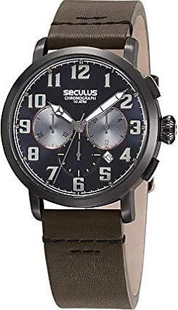 Seculus Relógio Seculus Masculino Ref: 13029gpsvsc3 Cronógrafo Black