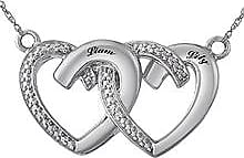 Kay Jewelers Couples Heart Necklace