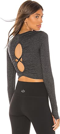 Free People Movement Swerve Long Sleeve Layer in Gray