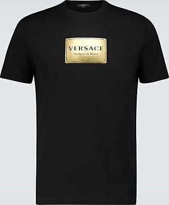 Versace Short-sleeved logo T-shirt