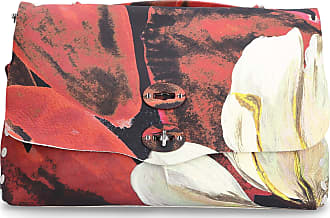 Zanellato Handbag MARIPOSA LIMITED EDITION 53/99 leather logo red white