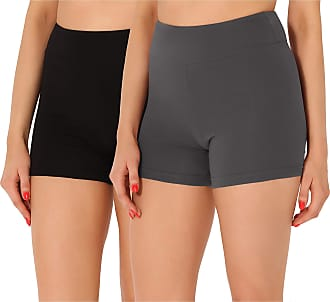 Merry Style Womens Shorts 2Pack MS10-359 (2Pack Black/Grey, XS)