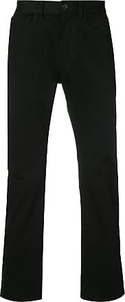 321 mid rise straight-leg jeans - Black