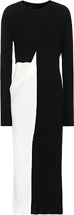 Haider Ackermann Two-tone midi dress