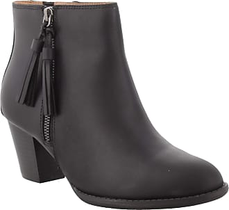 Vionic Womens Upright Madeline Ankle Boot - Ladies Booties with Concealed Orthotic Arch Support