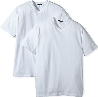 Schiesser Mens Vest, 008151-100, White (100-Weiss), Large (L)