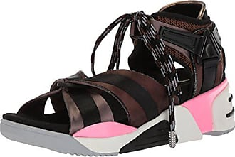 Marc Jacobs Womens Somewhere Sport Sandal, Black/Multi, 37 M EU (7 US)