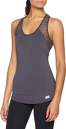 sloggi Womens Move Flex Tank Base Layers, Grey, Size 10