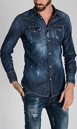 Dsquared2 Stretch Denim shirt size 48