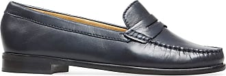 Van Dal Womens Hampden X Wide Fit Midnight Leather Penny Loafer Flats, Size 40 EU