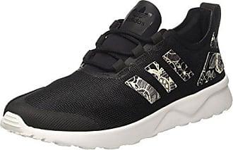 cheaper 0c584 f41f6 adidas ZX Flux ADV Verve, Baskets Basses Femme, Noir Core Black FTWR White