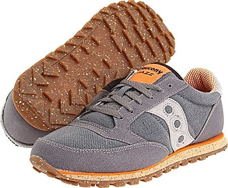 on sale 733d3 a6e36 Saucony Originals Jazz Low Pro Vegan (Charcoal Orange) Mens Classic Shoes