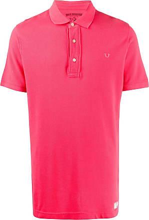 True Religion Camisa polo slim - Vermelho