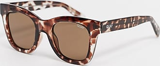 Quay After Hours oversized square sunglasses in tort-Brown