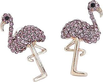 Wildcat Flamingo Earrings
