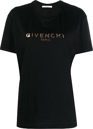 Givenchy Camiseta com estampa de logo - Preto