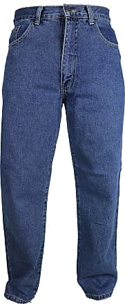 """BNWT MENS 33/"""" LONG LEG NAVY BLUE POLYESTER TROUSERS FORMAL CASUAL SMART 30/""""-48/"""""""