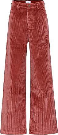 Ami High-rise wide-leg corduroy pants