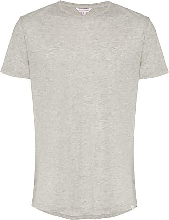 Orlebar Brown short sleeved cotton t-shirt - Grey