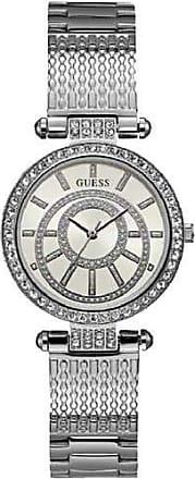 Guess Relógio feminino guess prateado analógico 92666L0GDNA1
