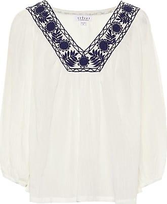 Velvet Zaylee modal and cotton blouse