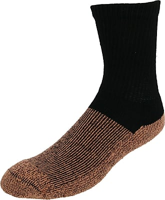 Copper Sole Mens Extended Size Odor Control No Show Socks 2 Pair Pack