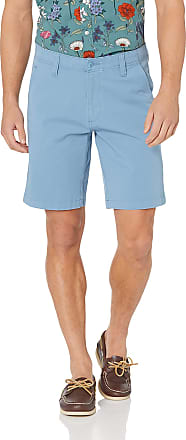Dockers Mens Straight Fit Smart 360 Flex Short Casual Pants, Blue Shadow, 30
