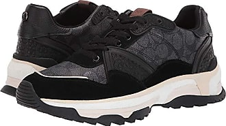 Coach C143 Runner (Black) Mens Shoes