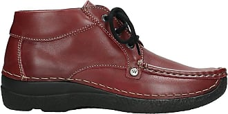 Wolky Comfort Fly Lace-Up Shoes Red Size: 8 UK