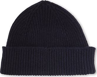e0802689799 Paul Smith Ribbed Cashmere And Wool-blend Beanie - Navy