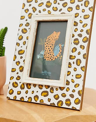Sass & Belle Sass & belle leopard photo frame-Multi