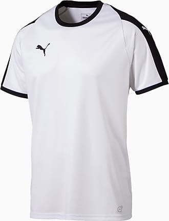 Puma Liga Mens Jersey, White/Black, size 2X Large, Clothing