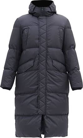Herno Hooded Down-quilted Coat - Mens - Navy