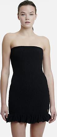 Sugarfree Strapless terry ruffled dress